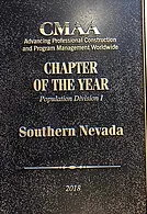 CMAA - 2018 Chapter of the year